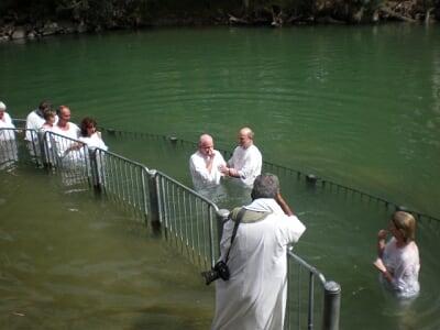 صور لاماكن حقيقيه تواجد فيها يسوع المسيح Baptism